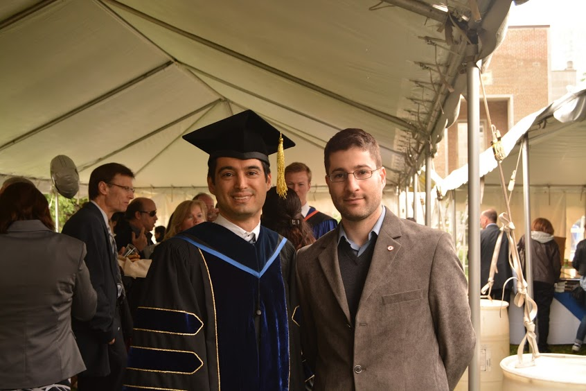 From Left: Dr. Ali Khosousi, Professor Seth Dworkin